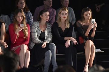 Mischa Barton Chiara Boni La Petite Robe - Front Row - September 2016 - New York Fashion Week: The Shows