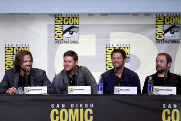 Misha Collins Comic-Con International 2016 - 'Supernatural' Special Video Presentation and Q&A