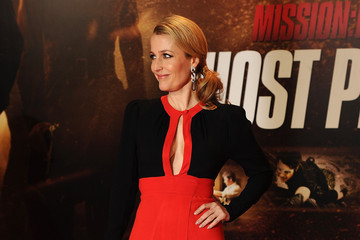 Gillian Anderson Mission: Impossible Ghost Protocol - UK Premiere