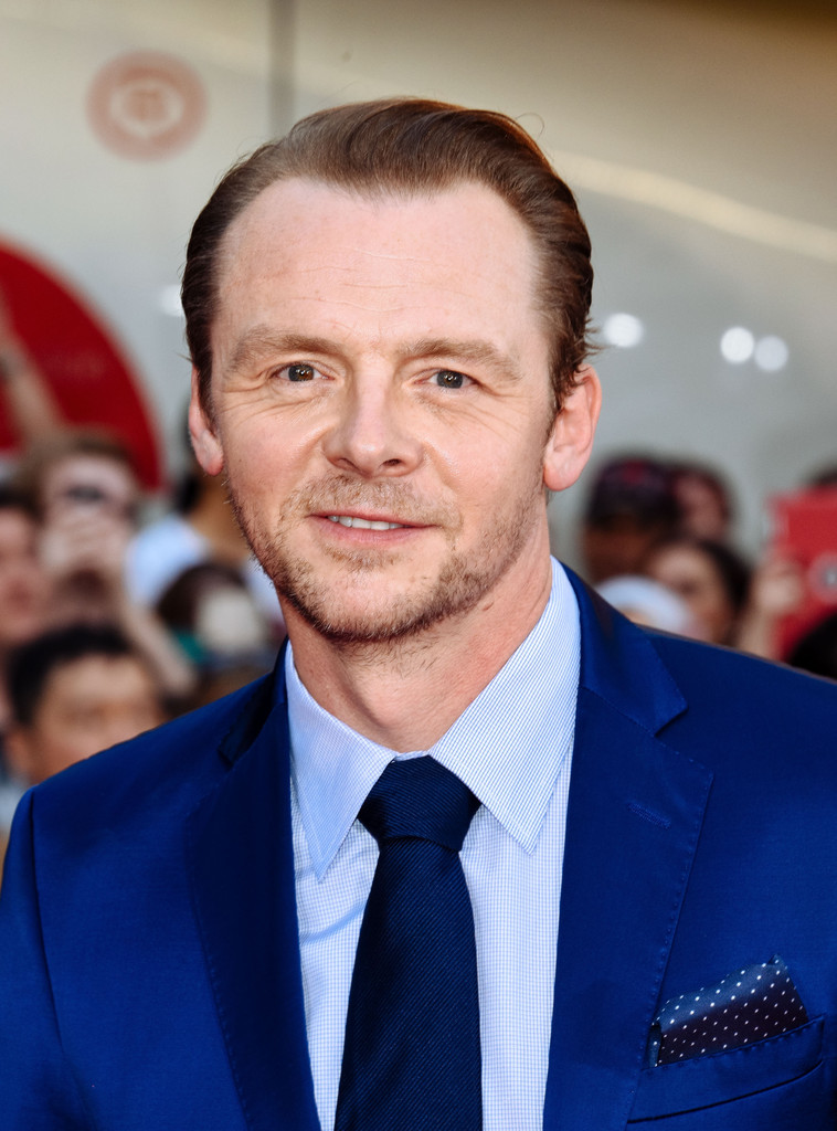 Simon Pegg Photos Photos Mission Impossible Rogue