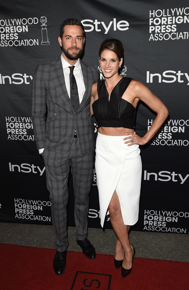 Missy Peregrym and zachary levi photos