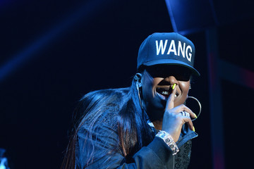 Missy Elliott Alexander Wang X H&M Launch Party