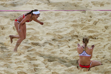 Misty May-Treanor Olympics Day 11 - Beach Volleyball