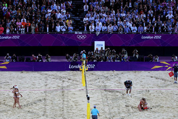 Misty May-Treanor Olympics Day 12 - Beach Volleyball