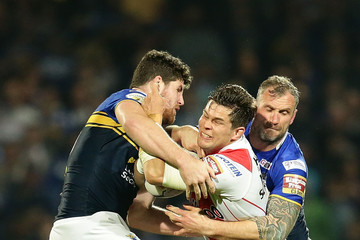 Mitch Garbutt Leeds Rhinos v St Helens - First Utility Super League Semi Final