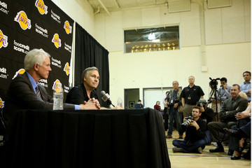 Mitch Kupchak Los Angeles Lakers Introduce Mike D'Antoni
