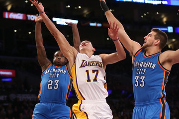 Mitch McGary Oklahoma City Thunder v Los Angeles Lakers