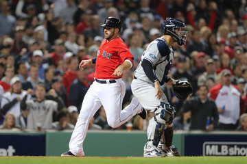 Mitch Moreland Divisional Round - New York Yankees vs. Boston Red Sox - Game Two