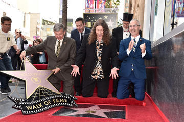 Mitch O'Farrell 'Weird Al' Yankovic Honored With Star On The Hollywood Walk Of Fame