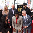 Mitch O'Farrell 50 Cent Walk Of Fame Ceremony