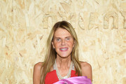 Anna Dello Russo attends the Miu Miu Womenswear Spring/Summer 2020 show as part of Paris Fashion Week on October 01, 2019 in Paris, France.