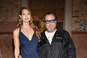 Louise Kugelberg and Julian Schnabel attend Miu Miu Women's Tales Dinner during 2019 Venice Film Festival on September 01, 2019 in Venice, Italy.