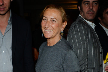 Miuccia Prada Opening Of Fondazione Prada's Exhibition 'Art Or Sound' - Private Preview