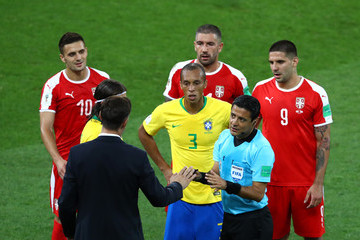 Mladen Krstajic Serbia Vs. Brazil: Group E - 2018 FIFA World Cup Russia