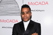 Singer Maxwell attends the MoCADA 3rd Annual Masquerade Ball at Brooklyn Academy of Music on October 25, 2017 in New York City.