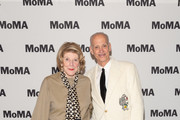 Agnes Gund and John Waters attends MoMA's The Contenders Screening of 30 Short Films in Celebration of The Strand 30th Anniversary at MoMA on November 25, 2019 in New York City.
