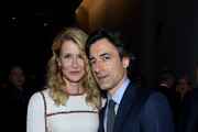 Laura Dern and Noah Baumbach attend MoMA's Twelfth Annual Film Benefit Presented By CHANEL Honoring Laura Dern on November 12, 2019 in New York City.