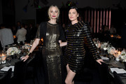 Lauren Santo Domingo (L) and Tabitha Simmons attend MoMA's Twelfth Annual Film Benefit Presented By CHANEL Honoring Laura Dern on November 12, 2019 in New York City.