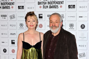 Mike Leigh and Lesley Manville Photos Photo