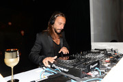 DJ Bob Sinclar performs onstage at Moet & Chandon Celebrates Its 270th Anniversary With New Global Brand Ambassador, International Tennis Champion, Roger Federer at Chelsea Piers Sports Center on August 20, 2013 in New York City.