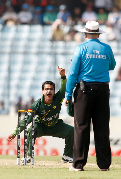 Mohammad Hafeez - Pakistan v West Indies - 2011 ICC World Cup Quarter-Final