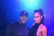 Timbaland and Cassie are seen celebrating Mohegan Sun's 20th Anniversary at the Ballroom Red Carpet After Party at Mohegan Sun on October 15, 2016 in Uncasville, Connecticut.
