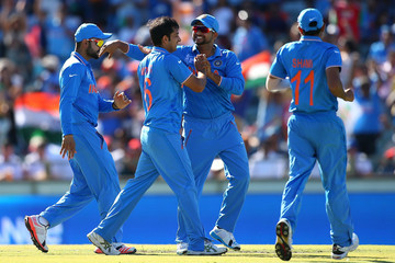 Mohit Sharma India v West Indies