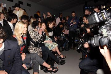 Mollie King Media at London Fashion Week