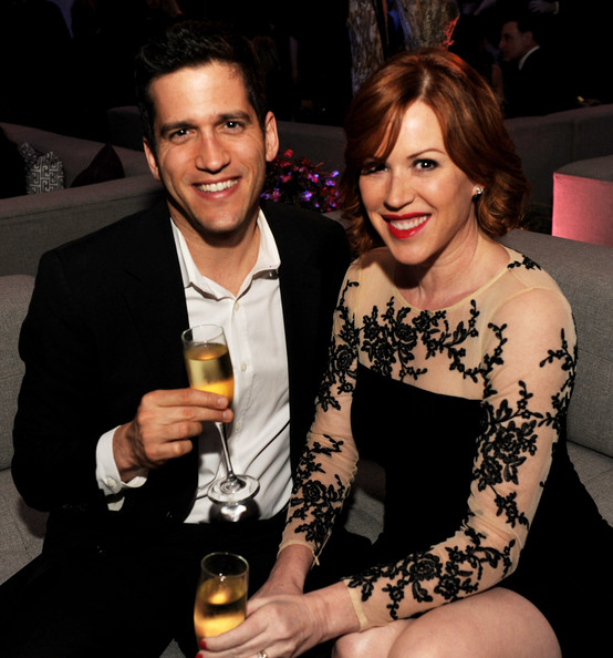 Molly Ringwald and husband