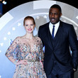 Idris Elba and Jessica Chastain Photos