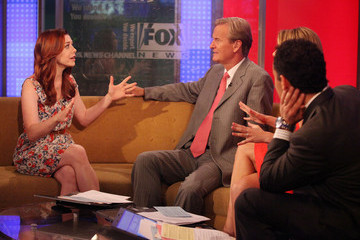 "Molly Line Alyson Hannigan Visits ""FOX & Friends"""
