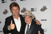 Richard Wilkins and Molly Meldrum Photos Photo