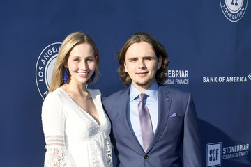 Molly Schirmang 5th Anniversary Los Angeles Dodgers Foundation Blue Diamond Gala - Blue Carpet