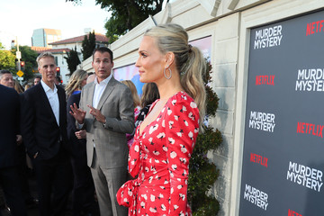 Molly Sims L.A. Premiere Of Netflix's 'Murder Mystery' - Red Carpet