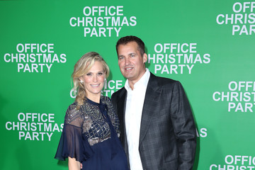 Molly Sims Office Christmas Party LA Premiere
