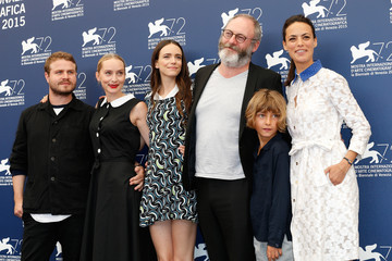 Mona Fastvold Tom Sweet 'The Childhood of a Leader' Photocall - 72nd Venice Film Festival