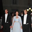 Prince and Andrea Casiraghi