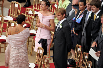 Prince Pierre Casiraghi Monaco Royal Wedding - The Religious Wedding Ceremony
