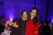 Annette Weber and Julia Malik Moncler X Stylebop.com launch event at the Musikbrauerei on October 11, 2017 in Berlin, Germany.