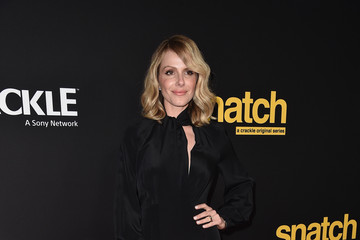 Monet Mazur Premiere Screening of Crackle's 'Snatch' - Arrivals