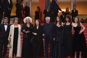 Monica Bellucci Anouk Aimee 'Les Plus Belles Annees D'Une Vie' Red Carpet - The 72nd Annual Cannes Film Festival