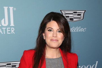 Monica Lewinsky The Hollywood Reporter's Power 100 Women In Entertainment - Red Carpet