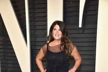 Monica Lewinsky 2017 Vanity Fair Oscar Party Hosted By Graydon Carter - Arrivals