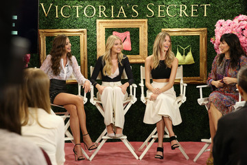 Monica Mitro Victoria's Secret Hosts Live Global Media Event to Reveal Bralette Collection & Launch Multi-City Tour