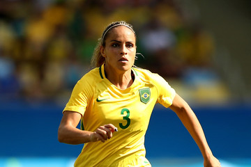 Monica Brazil vs Sweden -  Semi Final: Women's Football - Olympics: Day 11