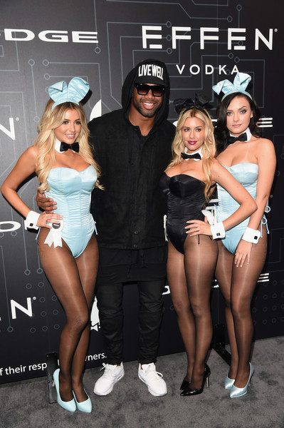 The Playboy Party During Super Bowl Weekend - Arrivals