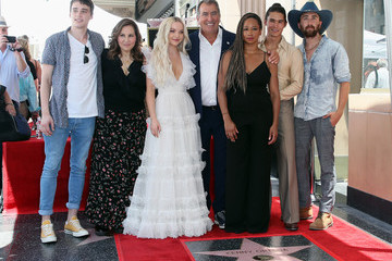 Monique Coleman Kenny Ortega Honored With Star On The Hollywood Walk Of Fame