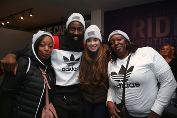 Monja Willis New Era Cap Presents James Harden Q & A And Interactive Design Session