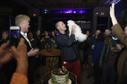 """Nigel Barker attends the Monkey 47 Gin Celebrates """"Shaken And Stirred"""" Podcast Launch With Nigel Barker And Tom Astor At The Wild Monkey on April 27, 2019 in New York City."""