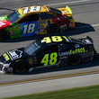 Jimmie Johnson and Kyle Busch Photos